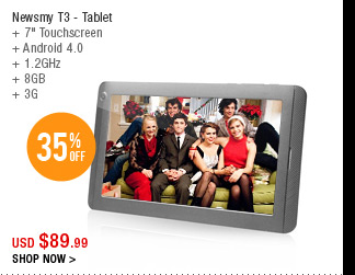 Newsmy T3 - Tablet