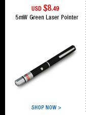 5mW Green Laser Pointer