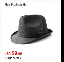 Flax Fashion Hat