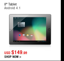"8"" Tablet"