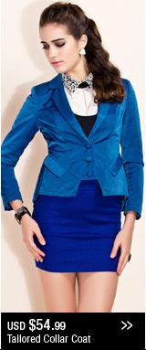 Tailored Collar Coat