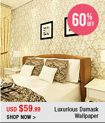 Luxurious Damask Wallpaper