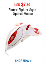 Future Fighter Style Optical Mouse
