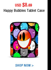 Happy Bubbles Tablet Case