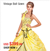 Vintage Ball Gown
