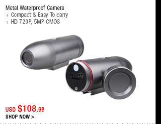 Metal Waterproof Camera