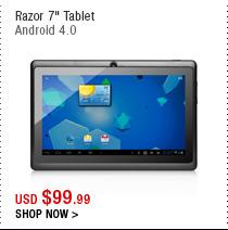 """Razor 7"""" Tablet"""