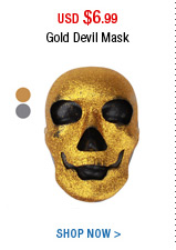 Gold Devil Mask