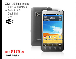 X12 - 3G Smartphone