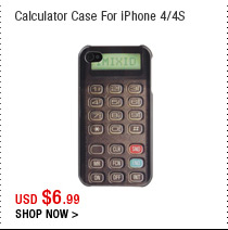 Calculator Case For iPhone 4/4S