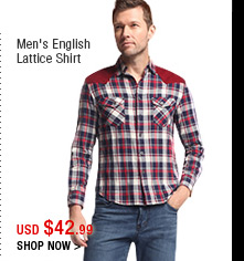Men's English Lattice Shirt