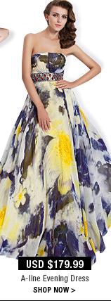 A-line Evening Dress