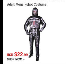Adult Mens Robot Costume