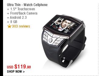 Ultra Thin - Watch Cellphone