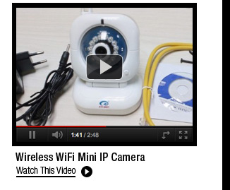 Wireless WiFi Mini IP Camera