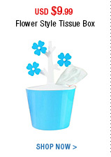 Flower Style Tissue Box