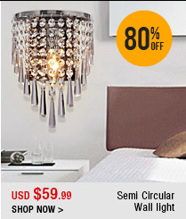 Semi Circular Wall light