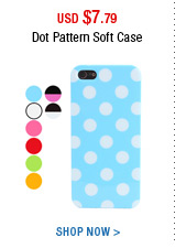 Dot Pattern Soft Case