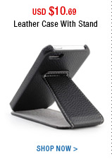 Leather Case With Stand