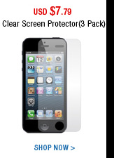 Clear Screen Protector(3 Pack)