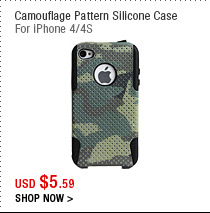Camouflage Pattern Silicone Case