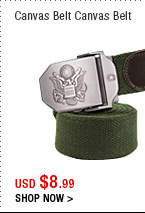 Canvas Belt Canvas Belt