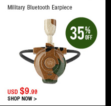 Military Bluetooth Earpiece