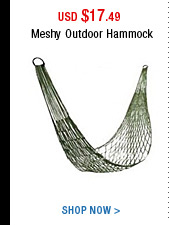 Meshy Outdoor Hammock