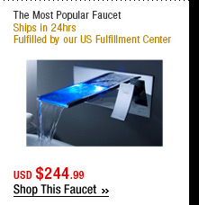 The Most Popular Faucet