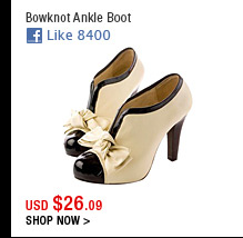 Bowknot Ankle Boot