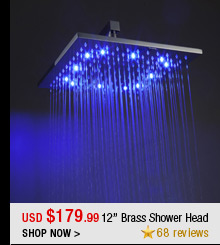12'' Brass Shower Head