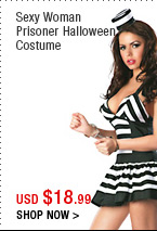 Sexy Woman Prisoner Halloween Costume
