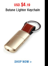 Butane Lighter Keychain