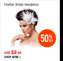 Feather Bridal Headpiece