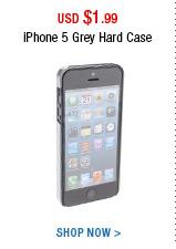 iPhone 5 Grey Hard Case