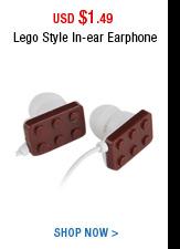 Lego Style In-ear Earphone