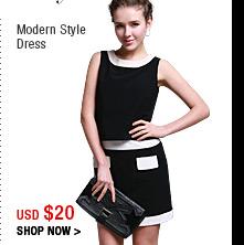 Modern Style Dress