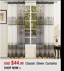 Classic Sheer Curtains