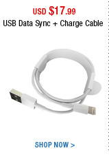 USB Data Sync + Charge Cable