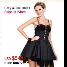 Sexy A-line Dress