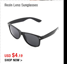 Resin Lens Sunglasses