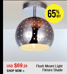 Flush Mount Light Fixture Shade