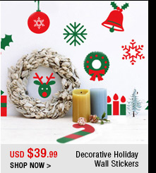 Decorative Holiday Wall Stickers