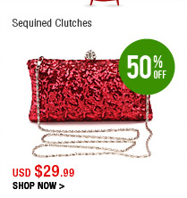 Sequined Clutches