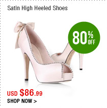 Satin High Heeled Shoes