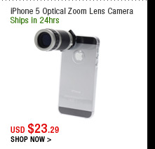 iPhone 5 Optical Zoom Lens Camera