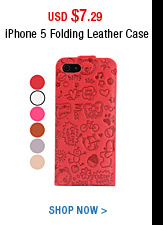 iPhone 5 Folding Leather Case