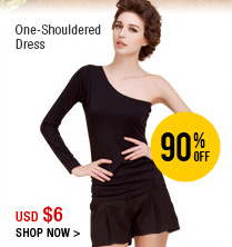 One-Shouldered Dress
