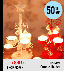 Holiday Candle Holder