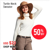 Turtle-Neck Sweater